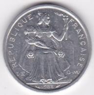 Nouvelle-Calédonie . 2 Francs 1983. Aluminium. - Nouvelle-Calédonie