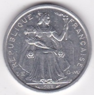 Nouvelle-Calédonie . 2 Francs 1983. Aluminium. - New Caledonia