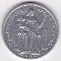 Nouvelle-Calédonie . 2 Francs 1996. Aluminium. - Nouvelle-Calédonie