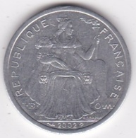 Nouvelle-Calédonie . 2 Francs 2002. Aluminium. - Nouvelle-Calédonie