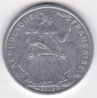 Nouvelle-Calédonie . 2 Francs 2002. Aluminium. - New Caledonia