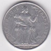 Nouvelle-Calédonie . 5 Francs 1983. Aluminium. - Nouvelle-Calédonie