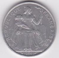 Nouvelle-Calédonie . 5 Francs 1986. Aluminium. - Nouvelle-Calédonie