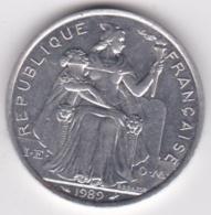 Nouvelle-Calédonie . 5 Francs 1989. Aluminium. - Nouvelle-Calédonie