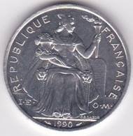 Nouvelle-Calédonie . 5 Francs 1990. Aluminium. - Nouvelle-Calédonie
