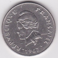 Nouvelle-Calédonie . 50 Francs 1967. En Nickel - Neu-Kaledonien