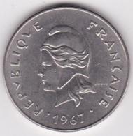 Nouvelle-Calédonie . 50 Francs 1967. En Nickel - Nouvelle-Calédonie