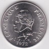 Nouvelle-Calédonie . 50 Francs 1972. En Nickel - New Caledonia
