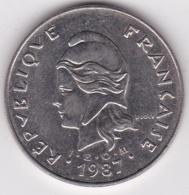 Nouvelle-Calédonie . 50 Francs 1987. En Nickel - Nouvelle-Calédonie