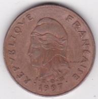 Nouvelle-Calédonie . 100 Francs 1997 . En Laiton De Nickel - Nouvelle-Calédonie