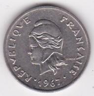 Nouvelle-Calédonie. 10 Francs 1967. En Nickel - Nouvelle-Calédonie