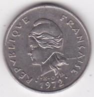 Nouvelle-Calédonie. 10 Francs 1972. En Nickel - Nouvelle-Calédonie