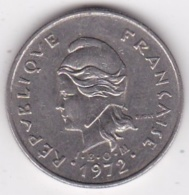 Nouvelle-Calédonie. 10 Francs 1972. En Nickel - New Caledonia