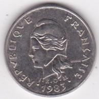Nouvelle-Calédonie. 10 Francs 1983. En Nickel - Neu-Kaledonien
