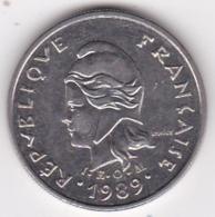 Nouvelle-Calédonie. 10 Francs 1989. En Nickel - Nouvelle-Calédonie