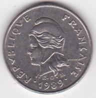 Nouvelle-Calédonie. 10 Francs 1989. En Nickel - New Caledonia