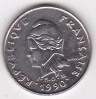Nouvelle-Calédonie. 10 Francs 1990. En Nickel - New Caledonia