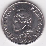 Nouvelle-Calédonie. 10 Francs 1996. En Nickel - Nouvelle-Calédonie