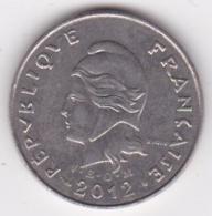 Nouvelle-Calédonie. 10 Francs 2012. En Nickel - Nouvelle-Calédonie
