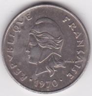 Nouvelle-Calédonie. 20 Francs 1970. En Nickel - Nouvelle-Calédonie