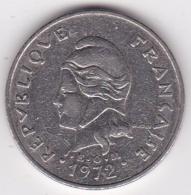 Nouvelle-Calédonie. 20 Francs 1972 En Nickel - Nouvelle-Calédonie