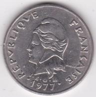 Nouvelle-Calédonie. 20 Francs 1977 En Nickel - Nouvelle-Calédonie