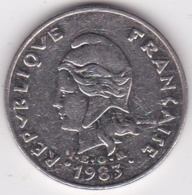 Nouvelle-Calédonie. 20 Francs 1983 En Nickel - Nouvelle-Calédonie
