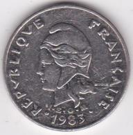 Nouvelle-Calédonie. 20 Francs 1983 En Nickel - New Caledonia