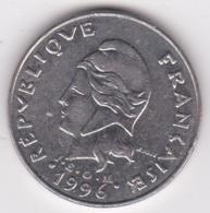 Polynésie Française. 20 Francs 1996. En Nickel - Polynésie Française
