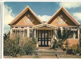 CPM, île De La Réunion , N°7595 , Maison Créole Au Tampon ,Ed. Iris ,1985 - Reunion