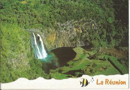 CPM, île De La Réunion , St. Suzanne ,Cascade Niagara ,Phot.M. Glatz ,Ed. Agedis - Reunion