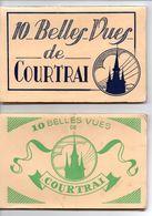 Kortrijk : 2 Boekjes Van 10 Kaarten - Kortrijk