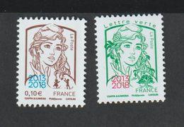 TIMBRE - 2018  - 5234 /35   - Salon Philatélique Paris - Philex -  Marianne Et La Jeunesse - Neufs Sans Charnière - France