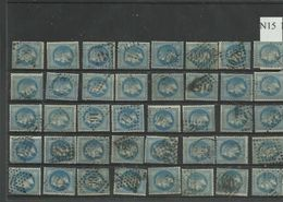 Plaquette De 40 Napoléon Numéros 29 Mot 15 - 1863-1870 Napoléon III Lauré