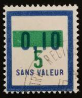 France Fictif N° F67 Oblitéré TTB Et Très Rare En Oblitéré. Cote 2020 : 3 Euros Minimum. Voir Scans Recto Verso - Fictifs