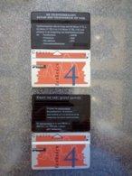 PAYS BAS LOT 2 CARDS PRIVEE LANDIS GYR 4U UT - Privées