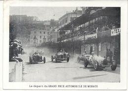 GRAND PRIX AUTOMOBILE DE MONACO . LE DEPART - Automobilismo - F1