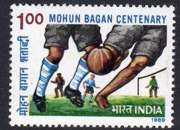 India 1989 Centenary Of Mohun Bagan Athletics Club, MNH, SG 1382 (D) - Neufs