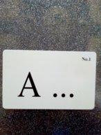 PAYS BAS PRIVEE CHIP CARD A...... N°1  2.50 FL UT - Privées