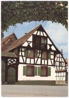 Brumath (Bas-Rhin) Maison à Colombages De La Rue Du Cygne Coll. Maison Ginss Tabac-Papeterie - Brumath