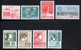 Danemark 1972 Yvert 537 / 544 ** TB - Nuevos