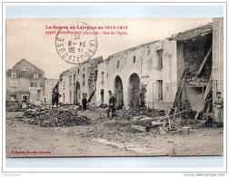 88 SAINT PIERREMONT - Vue De L'église (bombardée) - France