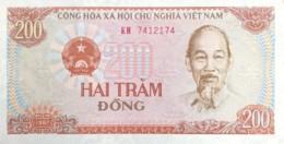 Vietnam 200 Dong, P-100a (1987) - UNC - Vietnam