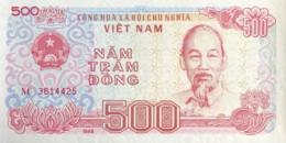 Vietnam 500 Dong, P-101a (1988) - UNC - Vietnam