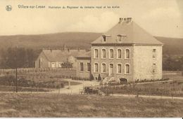 Villers-sur-Lesse  Habitation Du Régisseur Du Domaine Royal Et Les écoles - Rochefort