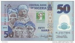 NIGERIA P. 37 50 N 2010 UNC - Nigeria