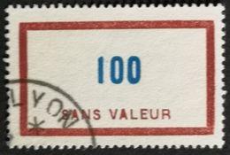 France Fictif N° F114 Oblitéré TTB Et Très Rare En Oblitéré. Cote 2020 : 5 Euros Minimum. Voir Scans Recto Verso - Fictifs