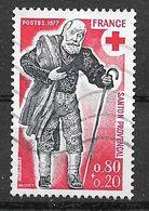 FRANCE 1959 Croix Rouge  Chemineau - Gebruikt