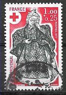 FRANCE 1960 Croix Rouge  Guérisseuse - Gebruikt