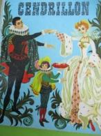 "Petit Livre D'Or/""CENDRILLON""/Charles Perrault/Editions Des Deux Coqs D'Or/C Barnes/Imp. Gibert-Clarey/TOURS/1965  PLR15 - Books, Magazines, Comics"